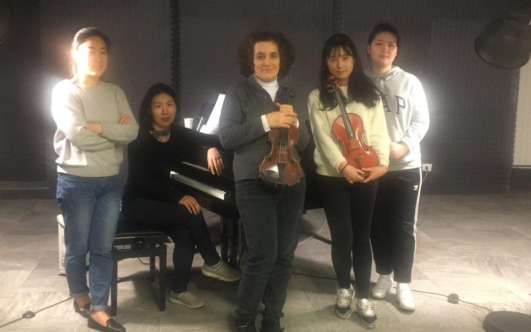 Masterclass di violino