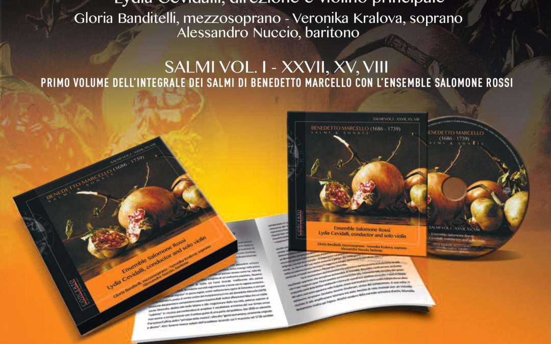 "Nuovo CD ""Benedetto Marcello – Salmi e Sonate"""