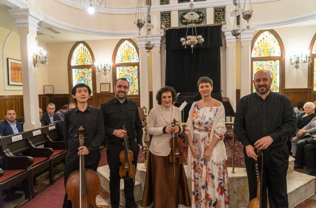 Concerto al MaMu di Milano dell'Ensemble Salomone Rossi