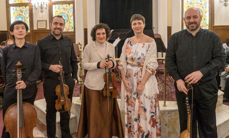 Ensemble Salomone Rossi a Istanbul